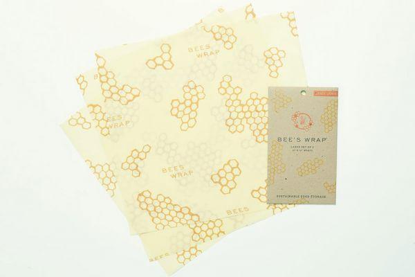 Bee's Wrap 3er Set groß - 33 x 35 cm