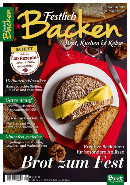 Festlich backen – Brot, Kuchen & Kekse