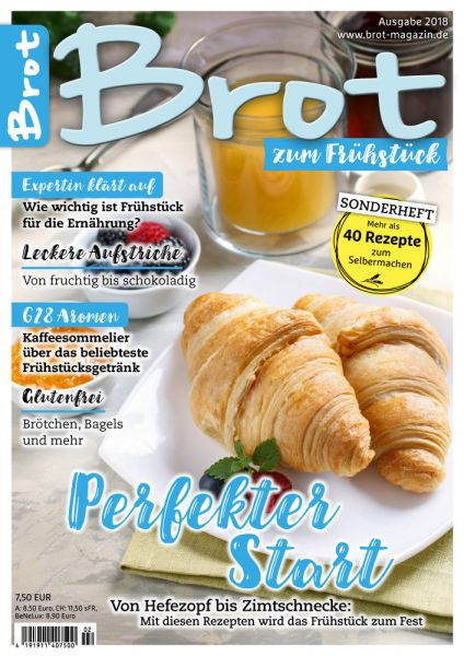 BROT – Sonderheft zum Frühstück