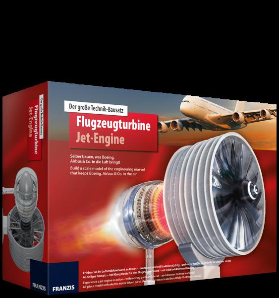 Flugzeugturbine - der große Technikbausatz