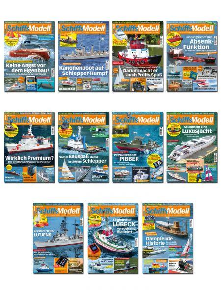 SchiffsModell – Auslands-Abonnement