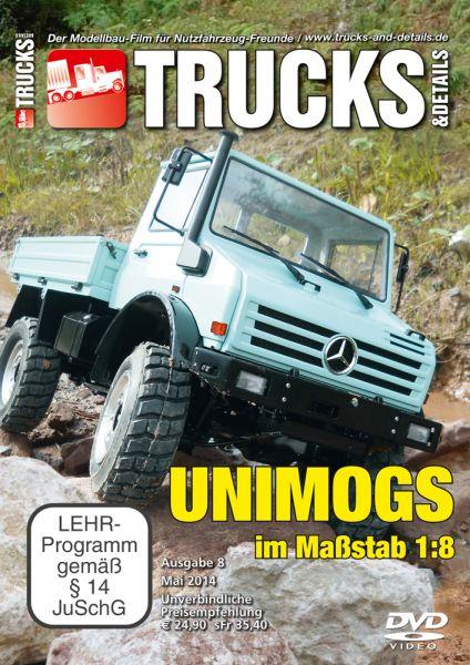 TRUCKS & Details DVD – Unimogs im Maßstab 1:8
