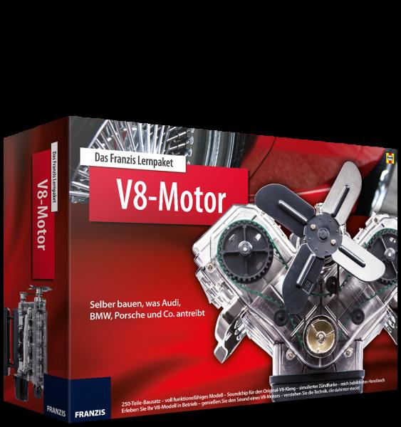 V8-Motor - Technikbausatz