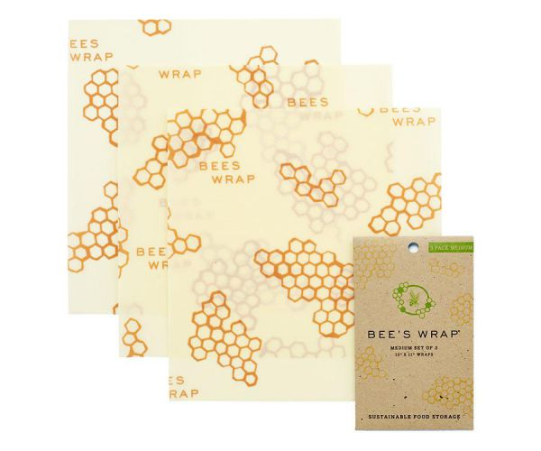 Bee's Wrap 3er Set medium - 25 x 27,5 cm