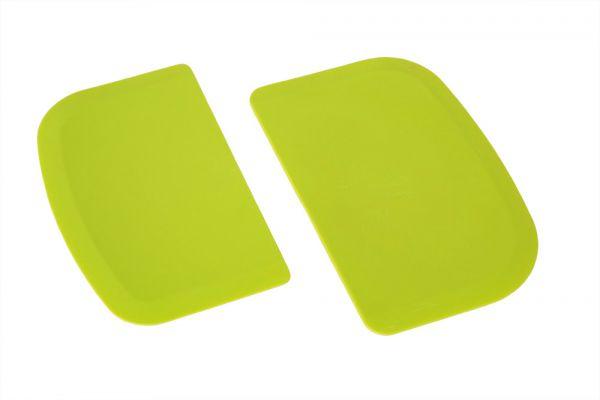 Teigkarten-Set zweiteilig, flexibel (grün)