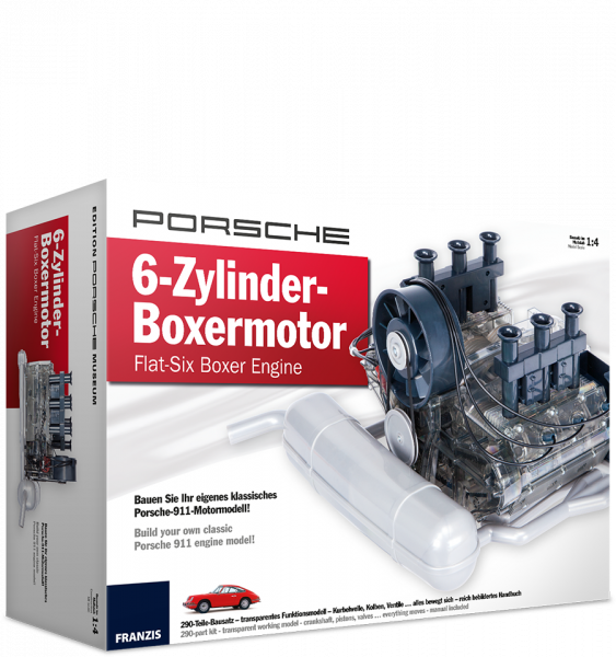 Porsche 6-Zylinder-Boxermotor - Technikbausatz