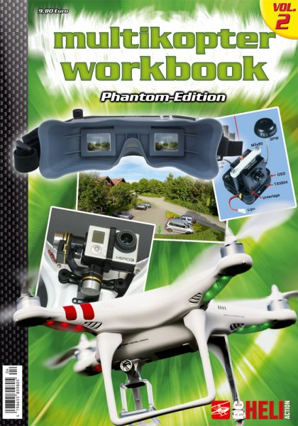 Multikopter Workbook Volume 2 – Phantom-Edition