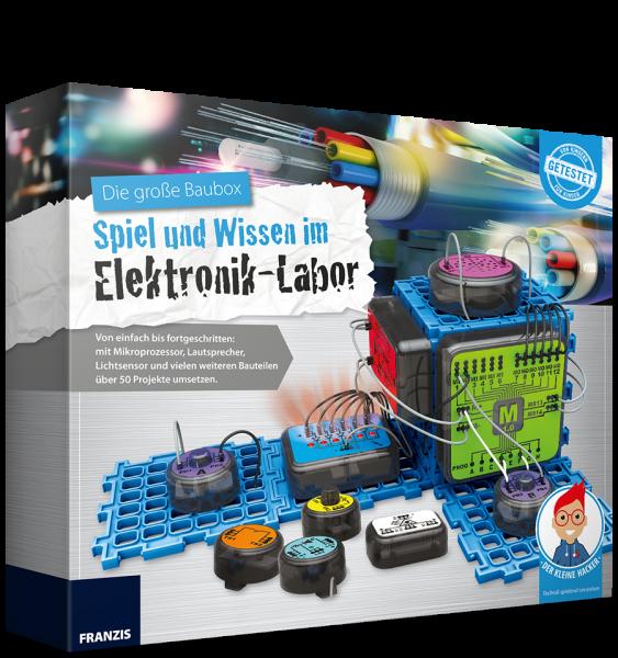 Die große Baubox - Spiel und Wissen im Elektronik-Labor