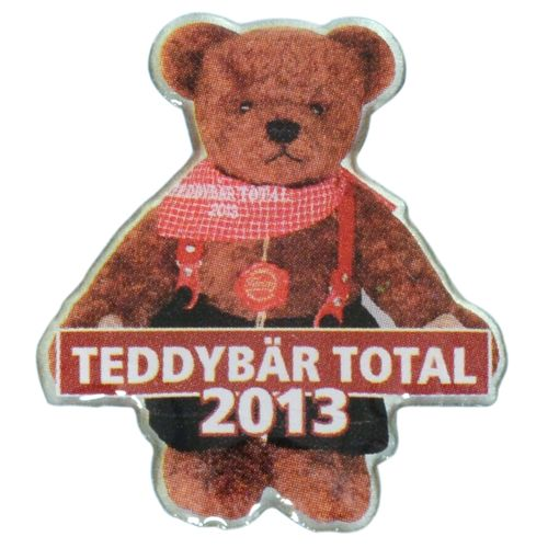 TEDDYBÄR TOTAL 2013 Pin