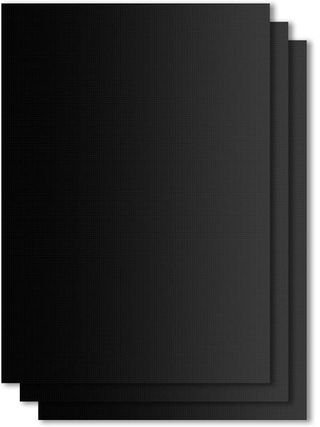 Premium Dauerbackmatte Grillmatte 50x40 3er-Set