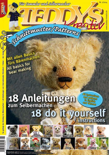 TEDDYS kreativ Schnittmuster 2