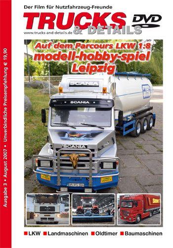 TRUCKS & Details DVD – Auf dem Parcours LKW 1:8