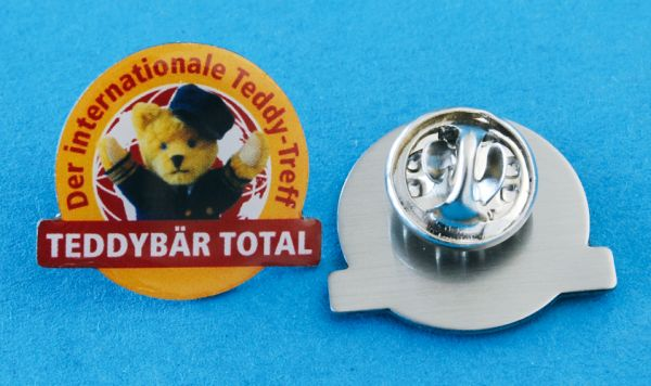 TEDDYBÄR TOTAL 2012 Pin