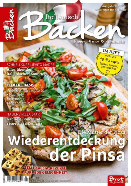Italienisch backen – Pizza, Pinsa und Focaccia