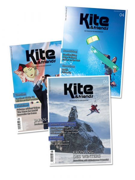 KITE & friends – Schnupper-Abonnement