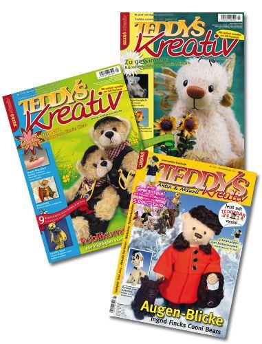 TEDDYS kreativ – Schnupper-Abonnement