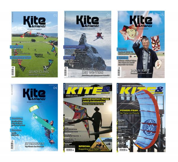 KITE & friends – Auslands-Abonnement