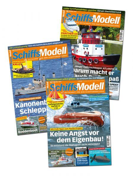 SchiffsModell – Schnupper-Abonnement
