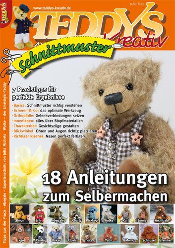 Das TEDDYS kreativ Schnittmuster Heft im Alles-rund-ums-Hobby-Shop ...