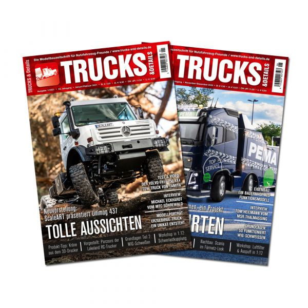 TRUCKS & Details – Schnupper-Abonnement