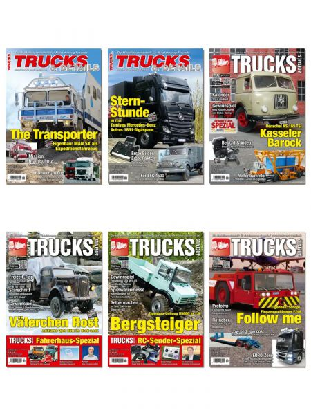 TRUCKS & Details – Auslands-Abonnement